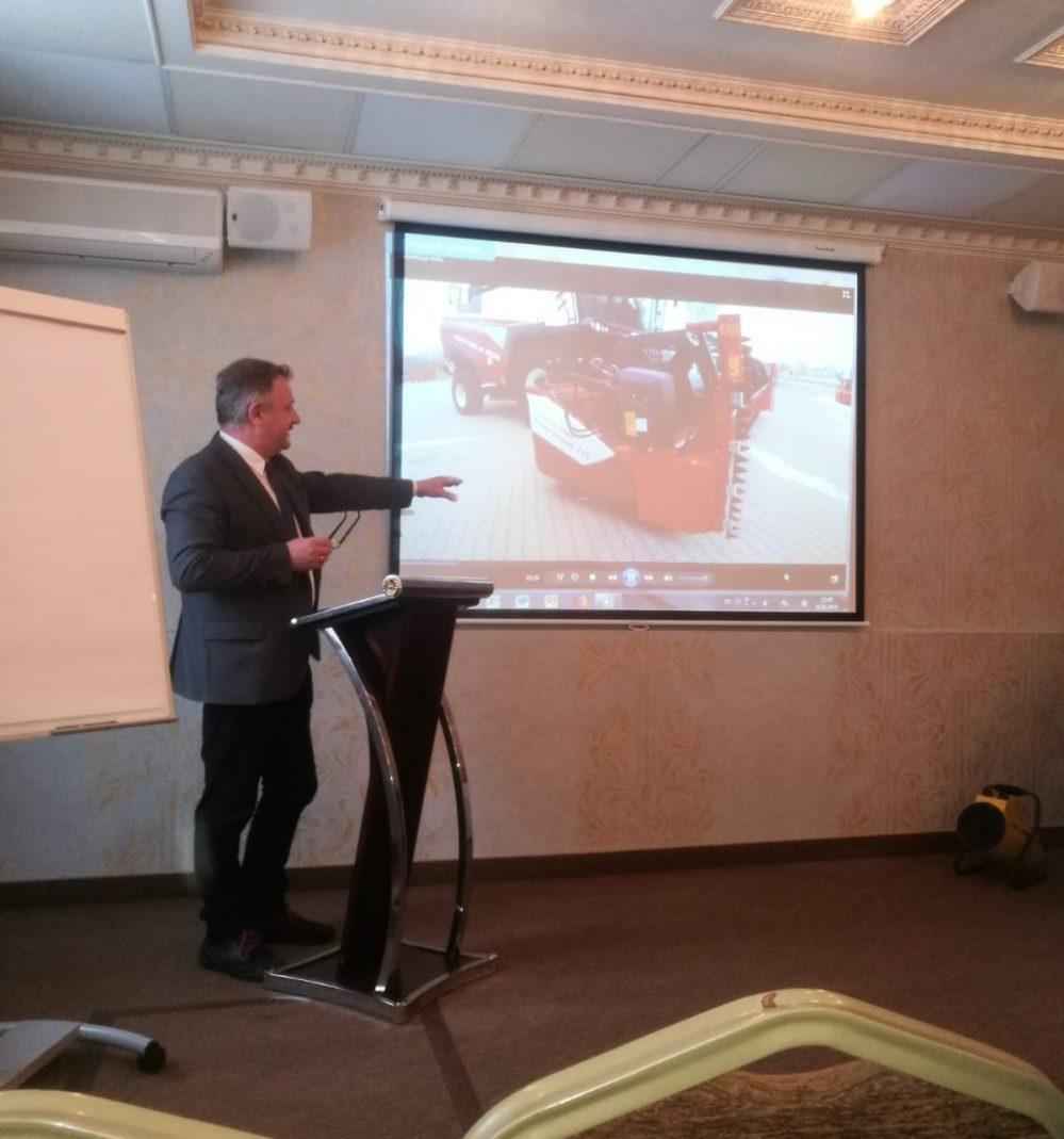 Курске в России состоялась конференция посвященная выращиванию рапса