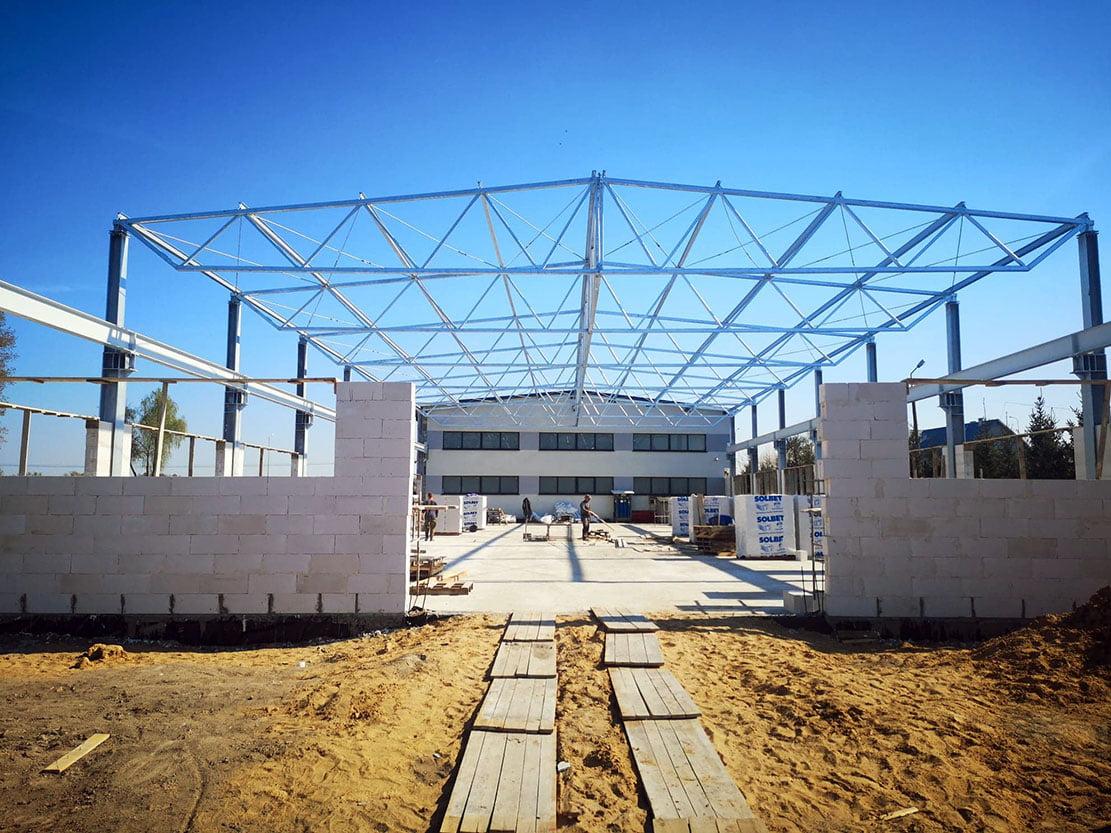 budowa nowej hali produkcyjnej