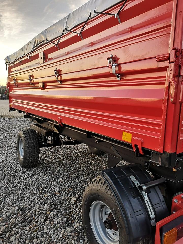 Białoruska przyczepa 6,5 tony (1)