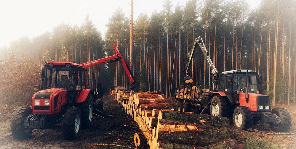 najlepszy ciągnik do lasu